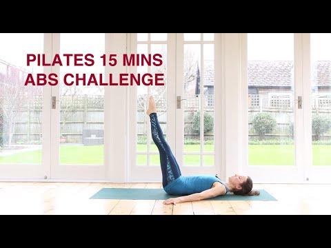 Pilates Abs Challenge 15 mins