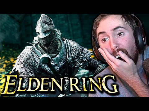 Asmongold Reacts to ELDEN RING - Gameplay Reveal Trailer