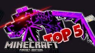 TOP 5 LOẠI ENDER DRAGON HIẾM THẤY NHẤT TRONG MINECRAFT PE !!?