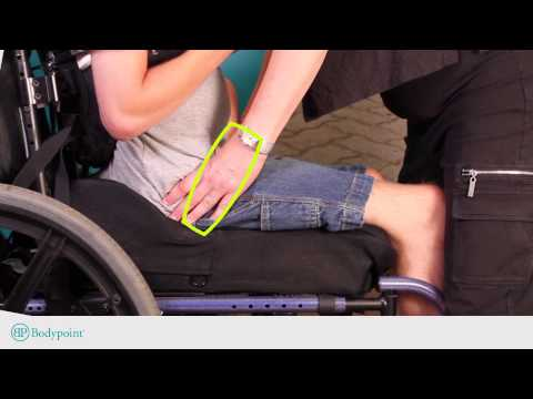Bodypoint | How to Find the Position for a Wheelchair Hip Belt