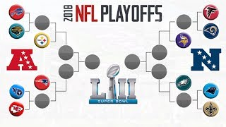 NFL 2017-2018 Playoff Predictions Super Bowl 52 Videos - mp3toke