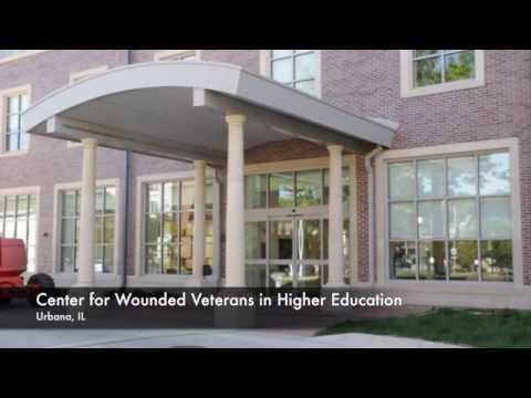 The new Center for Wounded Veterans