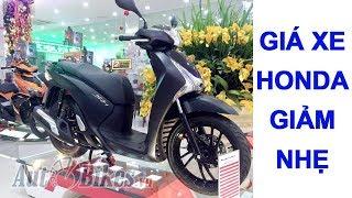 Giá xe máy Honda đồng loạt giảm. Cập nhật giá xe Honda mới nhất toàn quốc