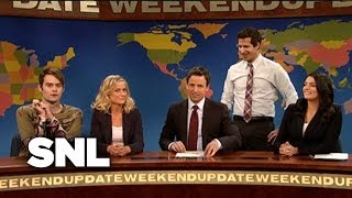 Weekend Update: Stefon and Amy - Saturday Night Live