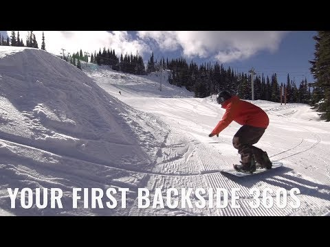 Your First Backside 360s On A Snowboard