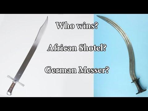 African Shotel vs German Messer - Short Blades Symposium Tournament Finals
