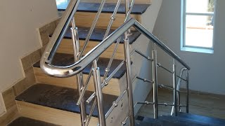 20 × 30 house Stainless Steel hand railing for steps ss