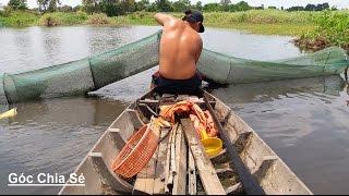 Xem Cách Ngư Dân Đặt Bẫy Bắt Cá - Lươn - Rắn