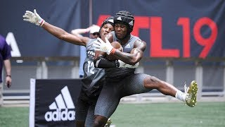 2019 Rivals 5-Star Challenge: WRs vs. DBs 1-on-1 drill