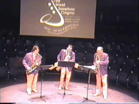 DET - Duke Ellington Trio sax - Ljubliana 2006 World Sax Congress - Venturus est.wmv