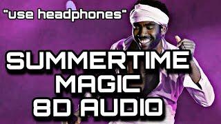 SUMMERTIME MAGIC 8D AUDIO