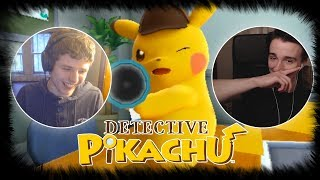 LIVE REACTION - Detective Pikachu English Reveal Trailer