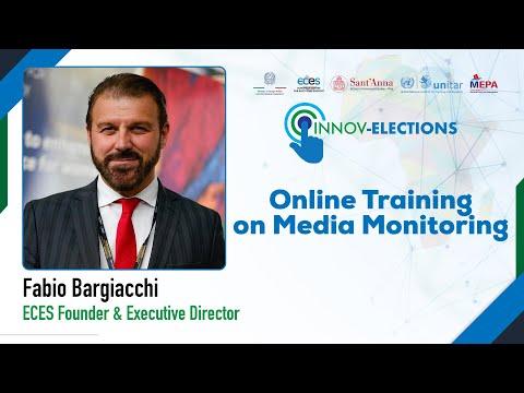 E-formation à la surveillance des médias - Message d'accueil de Fabio Bargiacchi