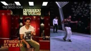 The Disco Song - Making - Student Of The Year - Sidharth Malhotra, Alia Bhatt & Varun Dhawan