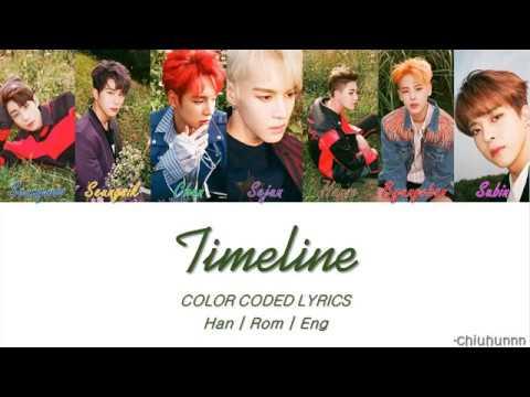 VICTON (빅톤) - TIMELINE Lyrics [Color Coded Han | Rom | Eng]