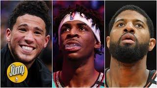 Devin Booker, Ja Morant or Paul George: Who deserved Damian Lillard's NBA All-Star spot? | The Jump