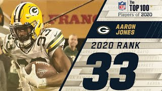 #33: Aaron Jones (RB, Packers) | Top 100 NFL Players of 2020