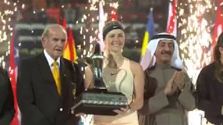 Highlights: WTA Final - Svitolina d. Kasatkina
