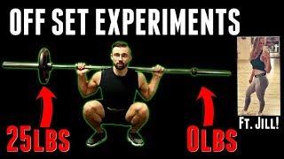 Off Set Training Experiments Ft. Jill Amanda - FULL LEG DAY WORKOUT