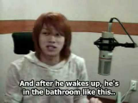 heechul talks about leeteuk on Radio (Eng Sub)