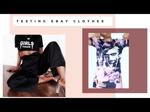 £1 - £8 TESTING EBAY CLOTHING HIT & MISS TRY ON HAUL/REVIEW   JUNE 2017 - SARAH WORE WHAT