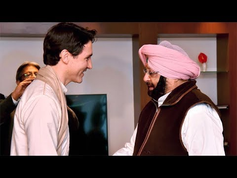 Raised Khalistan issue with Canadian PM Justin Trudeau: Punjab CM Amarinder Singh
