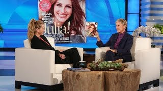 Julia Roberts Shares Her Beauty Secrets