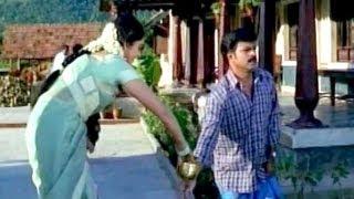 Brahmaji Shy Feel At His Sister-in-law - Comedy Kings - Rajasekar, Meena