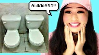 Most Awkward Bathroom Design Fails