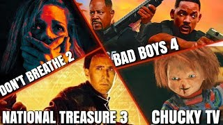National Treasure 3, Bad Boys 4, Chucky TV Series & MORE!!