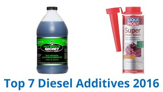 7 Best Diesel Additives 2016