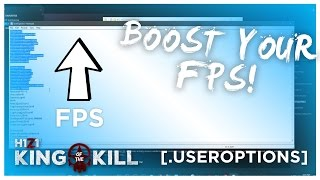 HOW TO BOOST YOUR H1Z1 KOTK FPS! (H1Z2 MAP) (2018!)