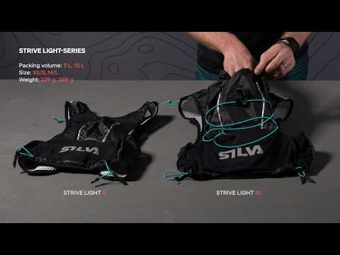 SILVA Strive Light series - lightweight running backpacks