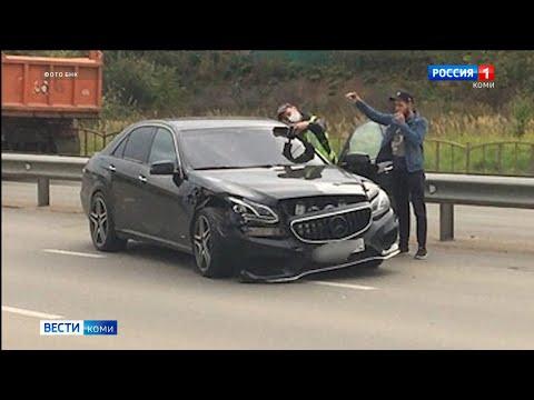 В Сыктывкаре в ДТП попала беременная женщина. Происшествия в Республике Коми 27.08.2021