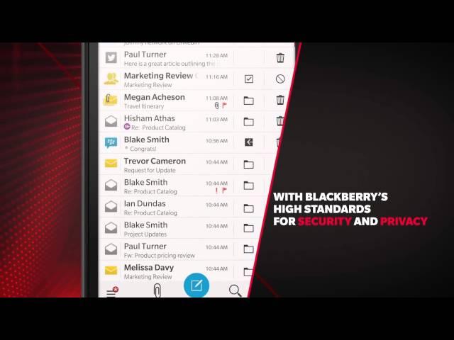 Belsimpel.nl-productvideo voor de BlackBerry Leap Black