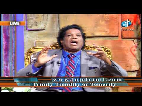 Trinity Timidity or Temerity Dr. Dominick Rajan 10-30-2020
