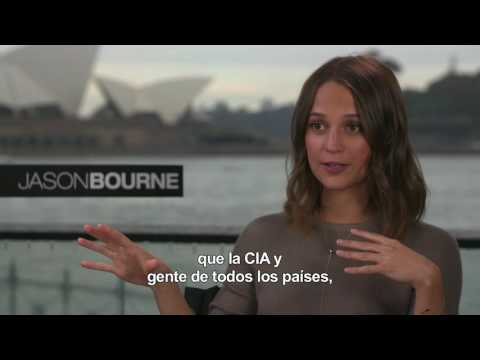 JASON BOURNE - Entrevista a Alicia Vikander