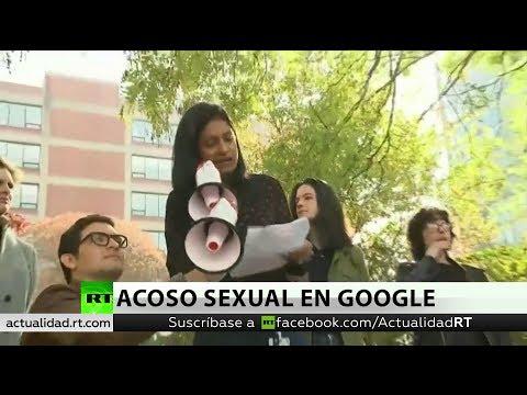 Trabajadores de Google protestan por gestión de casos de acoso sexual