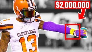 Most Expensive Things Worn In NFL Games (Odell Beckham Jr, Tom Brady, Alvin Kamara)