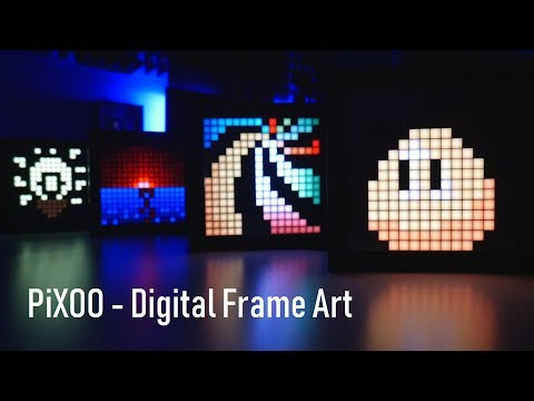 video Pixel Art Digital Frame