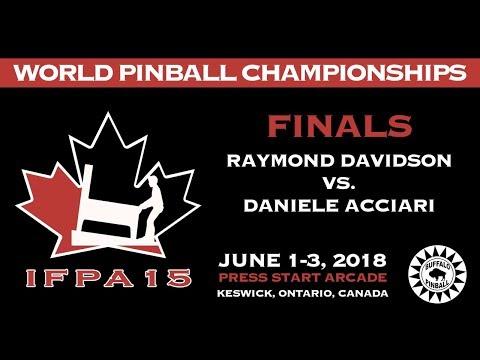 IFPA 15 World Championship Finals - Raymond Davidson vs. Daniele Acciari