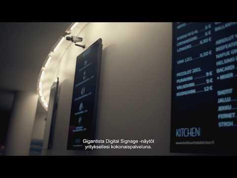 Gigantti - Digital Signage
