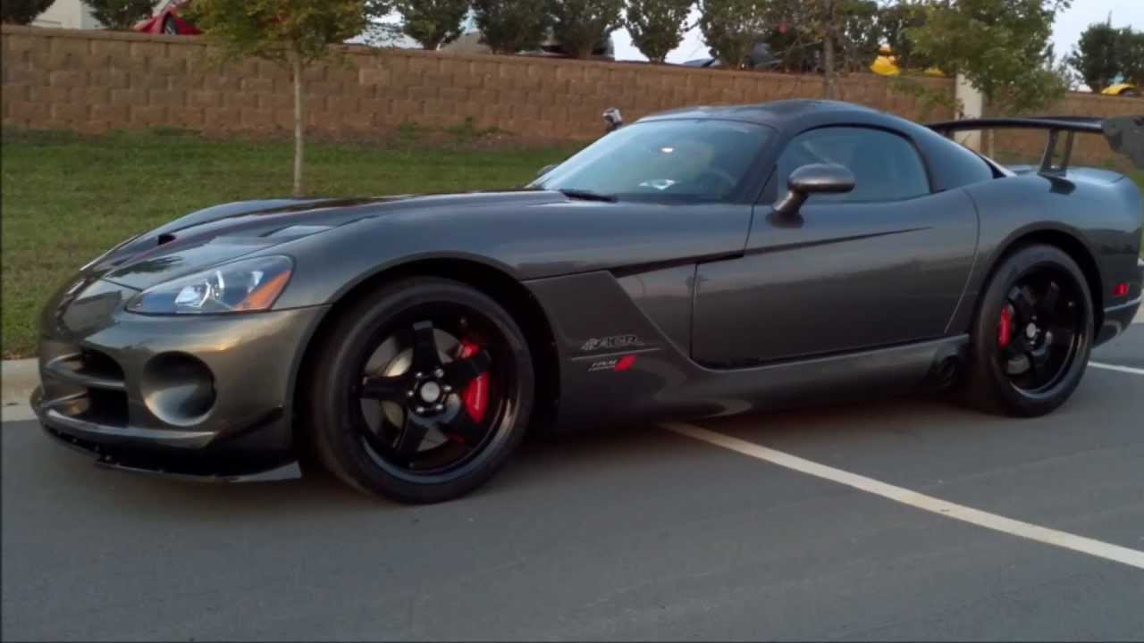 2010 Dodge Viper Acr Final Edition Youtube