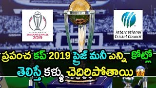 Prize Money For ICC World Cup 2019|ICC World Cup 2019 Latest Updates|Akshay TV