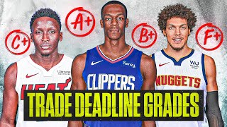 2021 NBA Trade Deadline GRADES [HEAT WIN, RAPTORS LOSE]