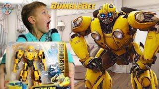 Трансформер Бамблби у Тимы 🤖 из фильма BumbleBee Transformers 6 (2018) - распаковка, обзор