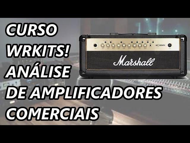 LANÇAMENTO: CURSO ANÁLISE TEÓRICA DE AMPLIFICADORES COMERCIAIS!