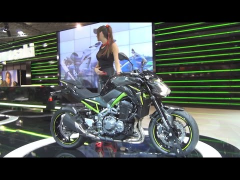 @Kawasaki Z900 (2017) Exterior and Interior in 3D