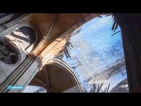 Zo ziet Notre-Dame eruit, drie maanden na de brand   - RTL NIEUWS