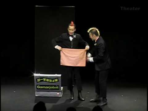 这场双人魔术表演没有神奇的魔术,但观众们都笑翻全场!